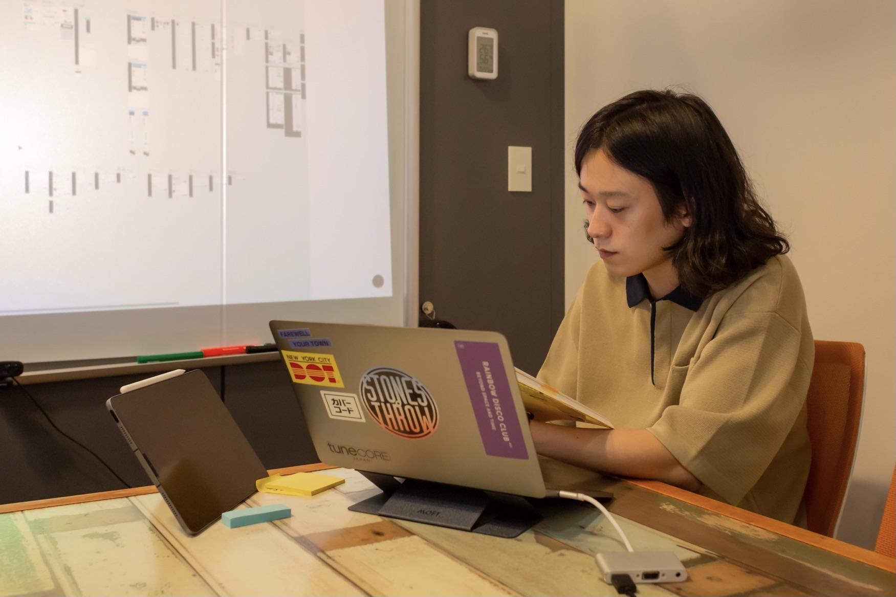 TuneCore JapanのUI/UX担当の滝沢
